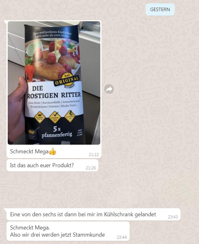 WhatsApp Meinung